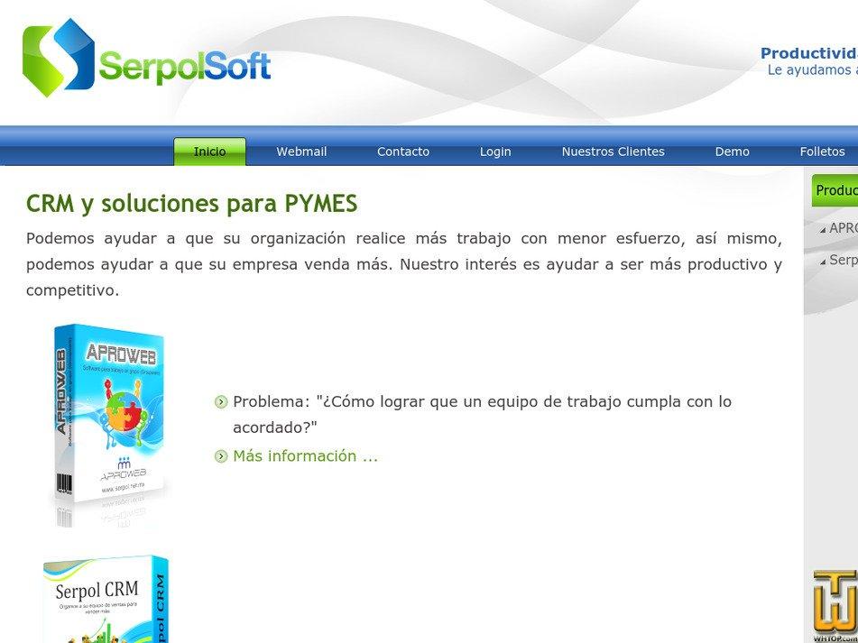 serpol.net.mx Screenshot