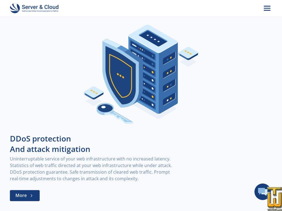 server-cloud.com Screenshot
