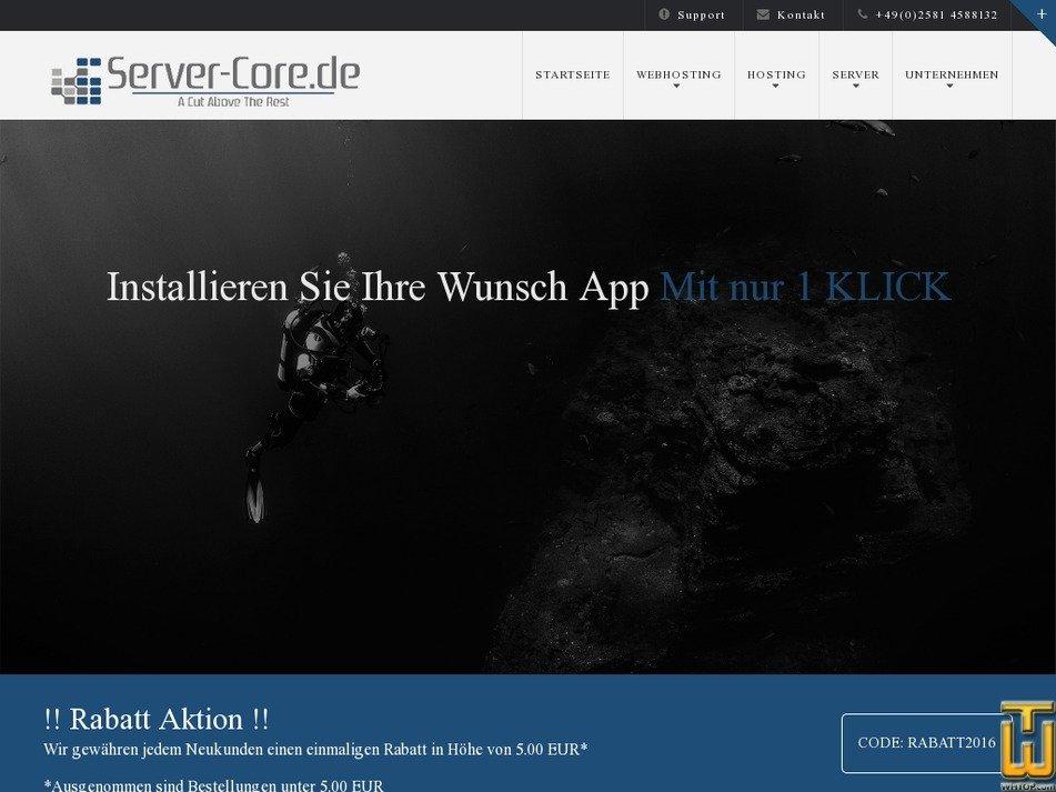 server-core.de Screenshot