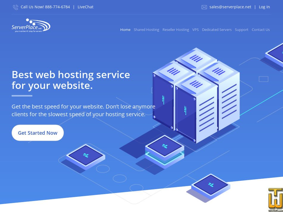 serverplace.net Screenshot