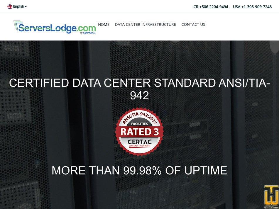 serverslodge.com Screenshot