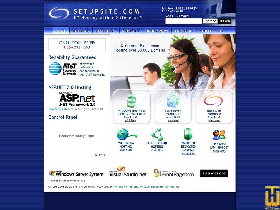 setupsite.com Screenshot