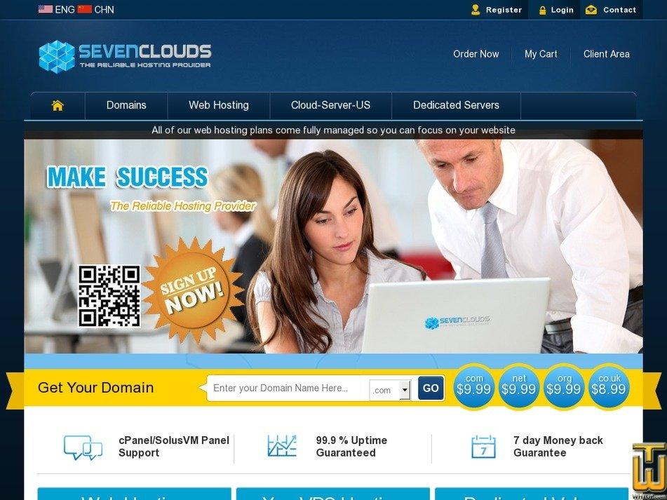 sevenclouds.net Screenshot