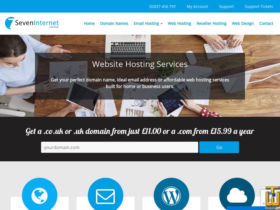 seveninternet.co.uk Screenshot