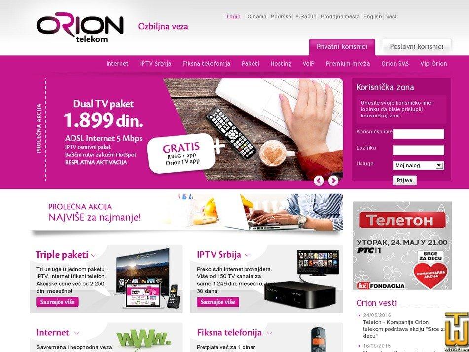 sezamhosting.com Screenshot