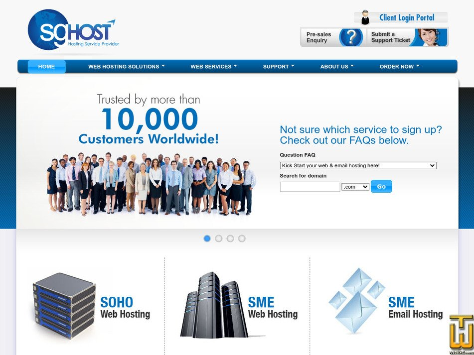 sghost.com Screenshot