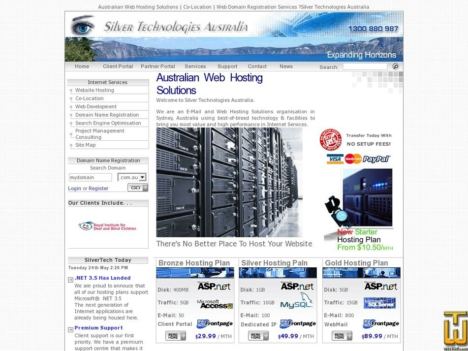 silvertech.com.au Screenshot