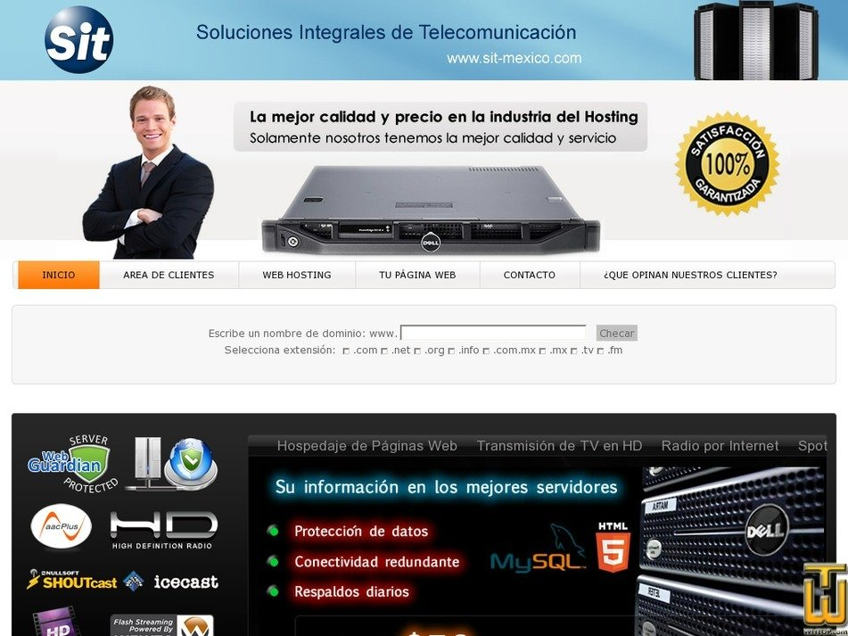 sit-mexico.com Screenshot