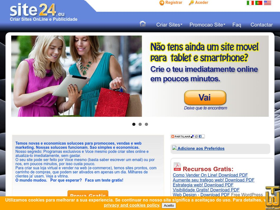 site24.eu Screenshot