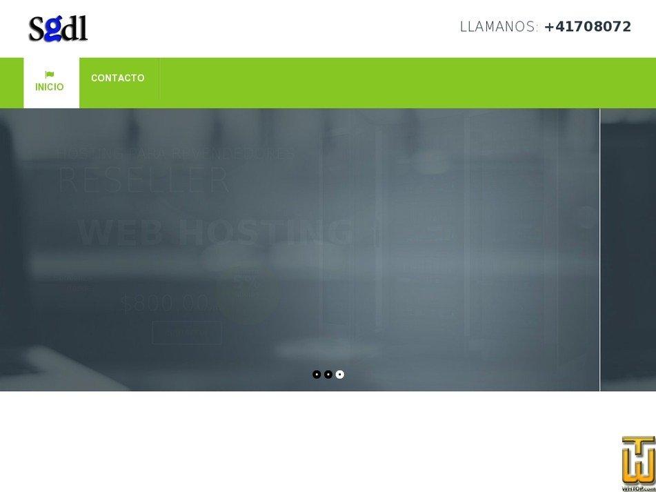 sitiosgdl.com Screenshot
