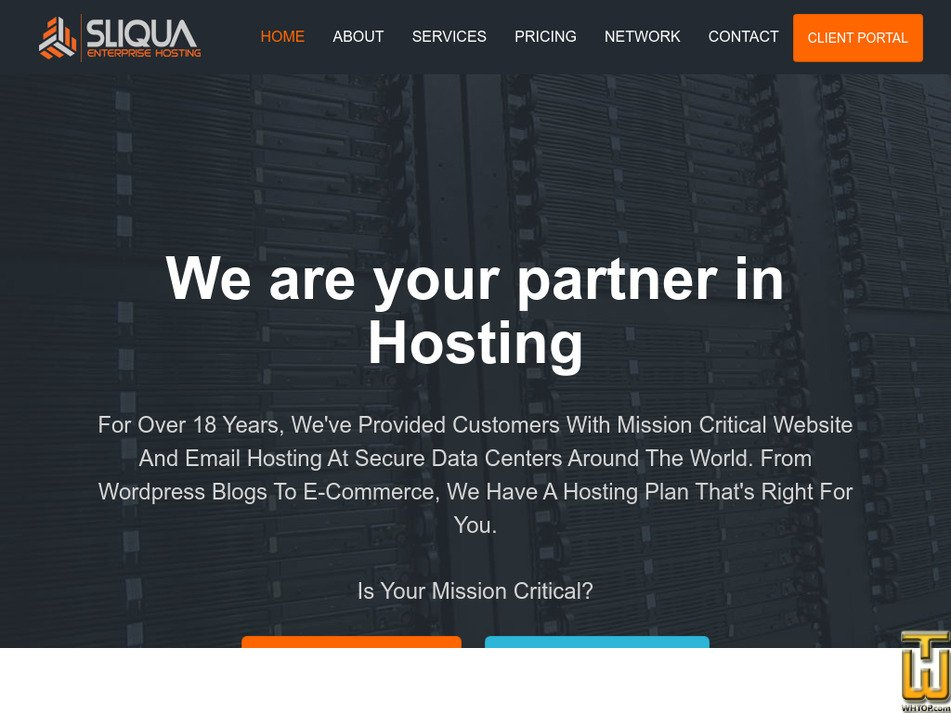 sliqua.com Screenshot