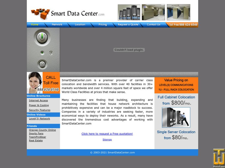 smartdatacenter.com Screenshot