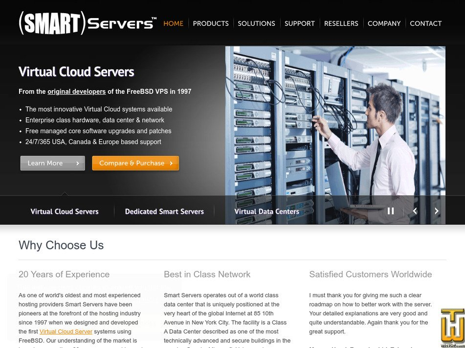 smartservers.com Screenshot
