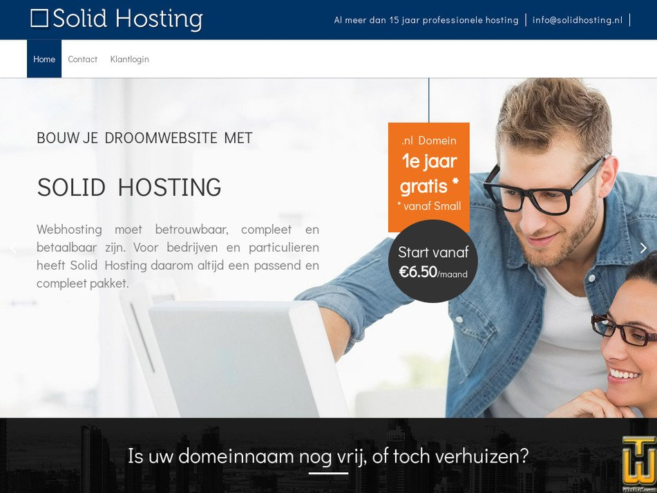 solidhosting.nl Screenshot