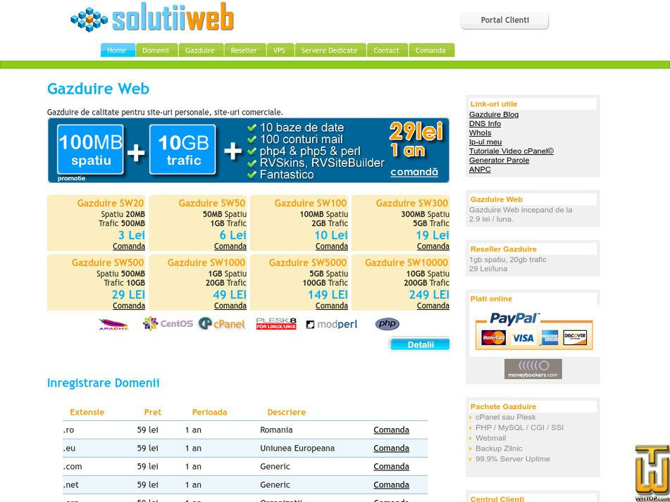 solutiiweb.ro Screenshot