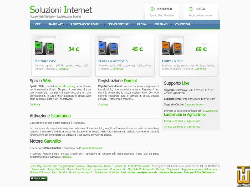 soluzioni-internet.com Screenshot