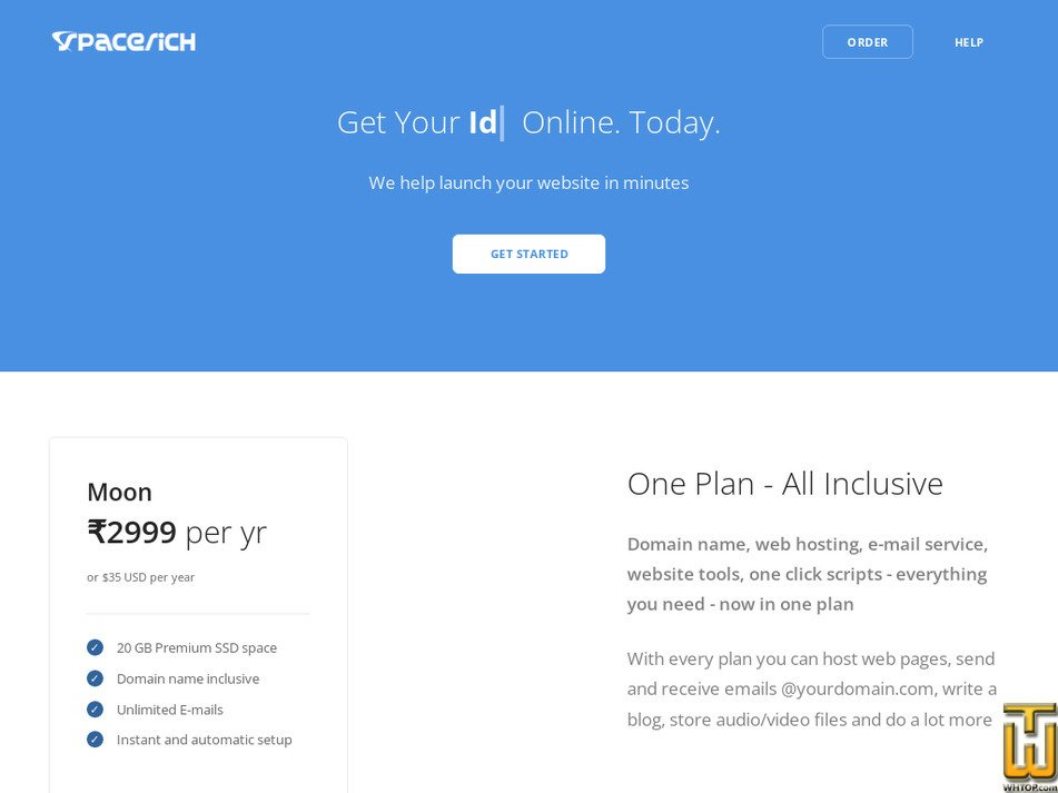 spacerich.com Screenshot