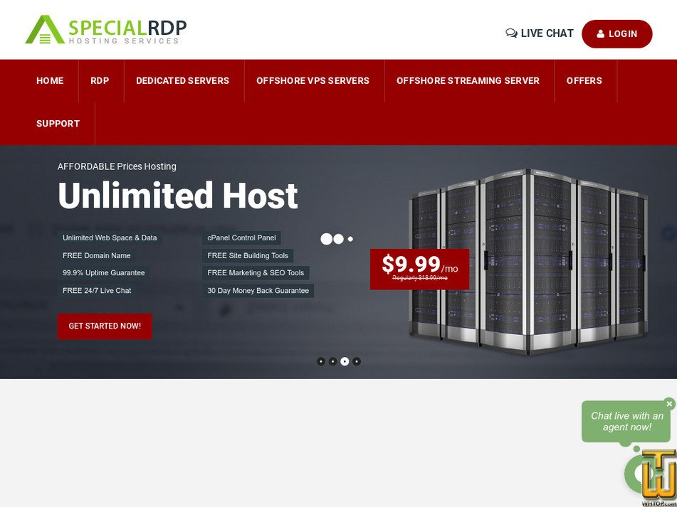 specialrdp.com Screenshot