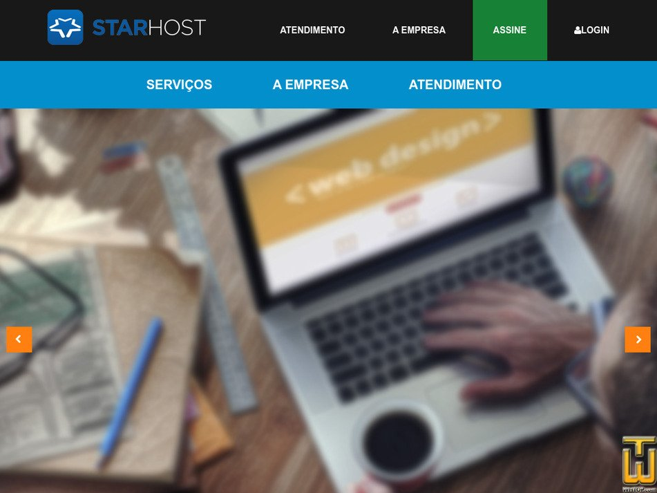 starhost.com.br Screenshot