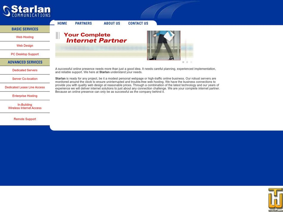starlan.com Screenshot