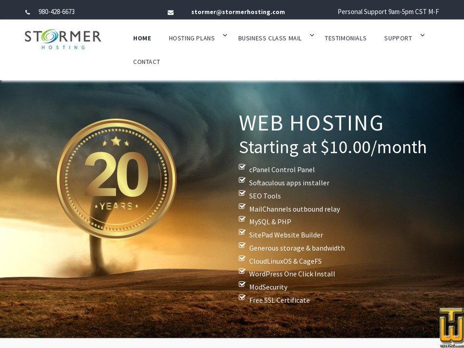 stormer.com Screenshot