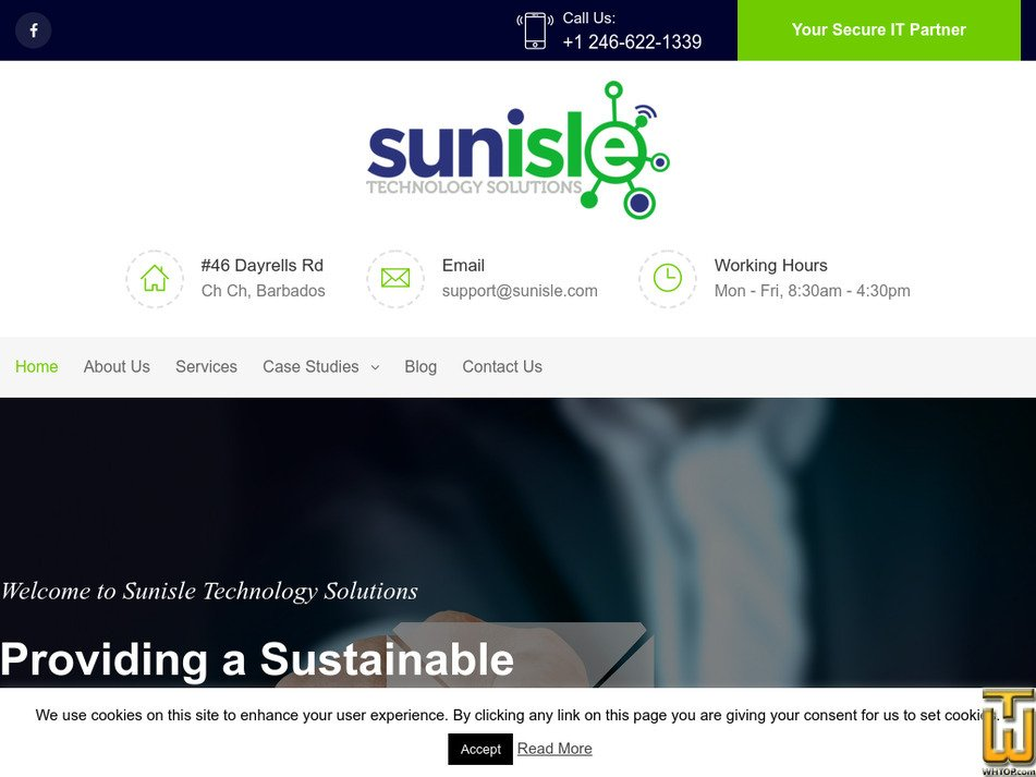 sunisle.com Screenshot