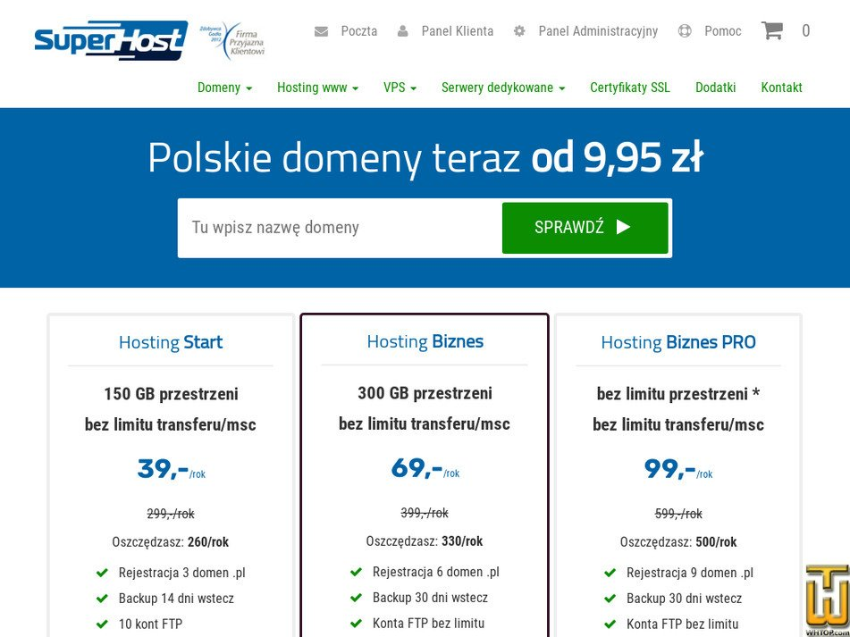 superhost.pl Screenshot