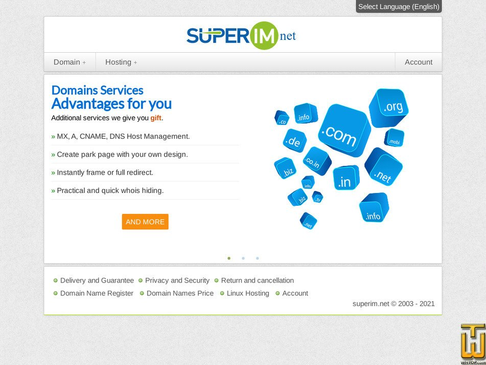 superim.net Screenshot
