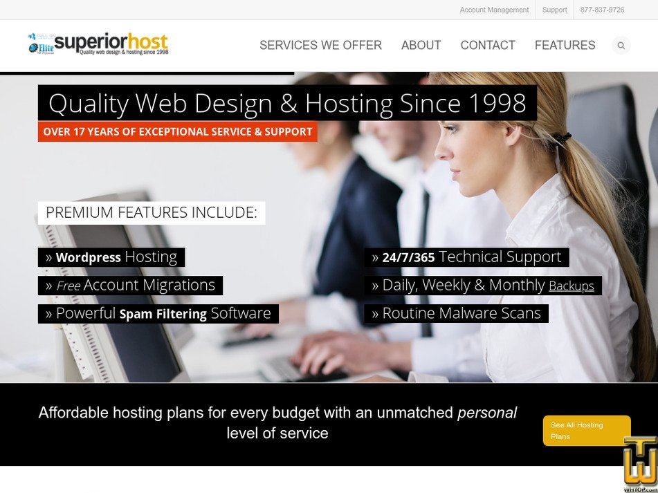 superior-host.com Screenshot