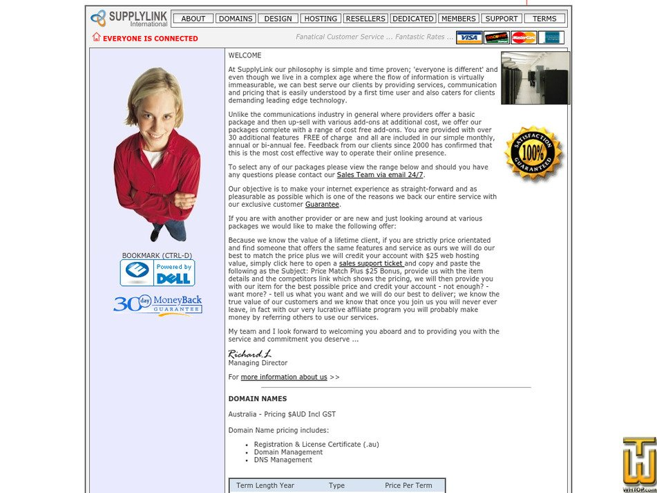 supplylink.com.au Screenshot