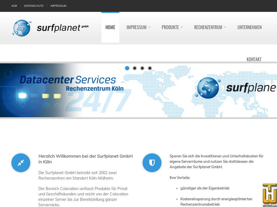 surfplanet.de Screenshot