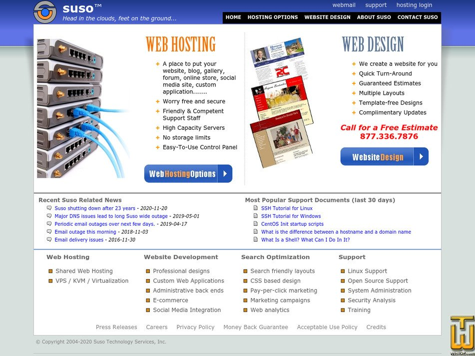 suso.com Screenshot