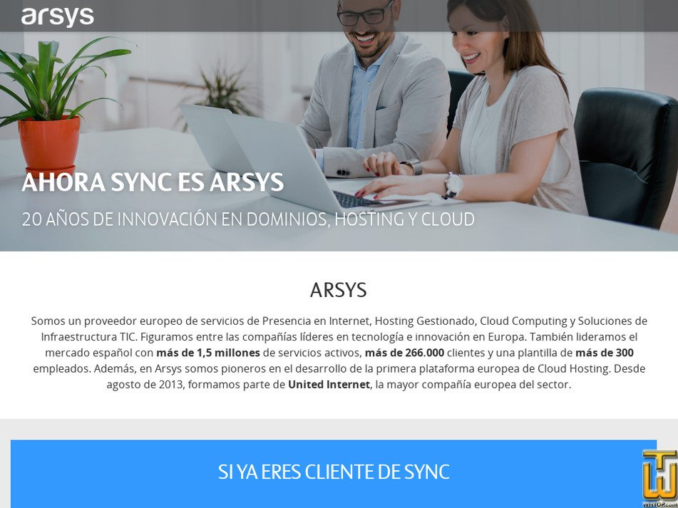 sync.es Screenshot