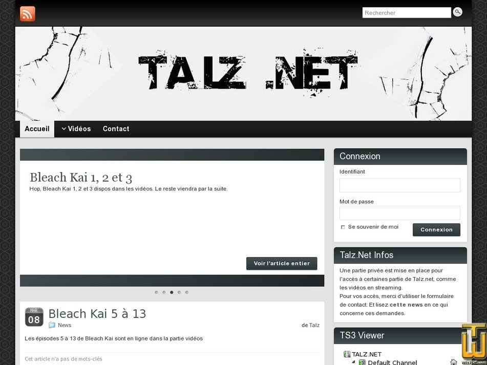 talz.net Screenshot