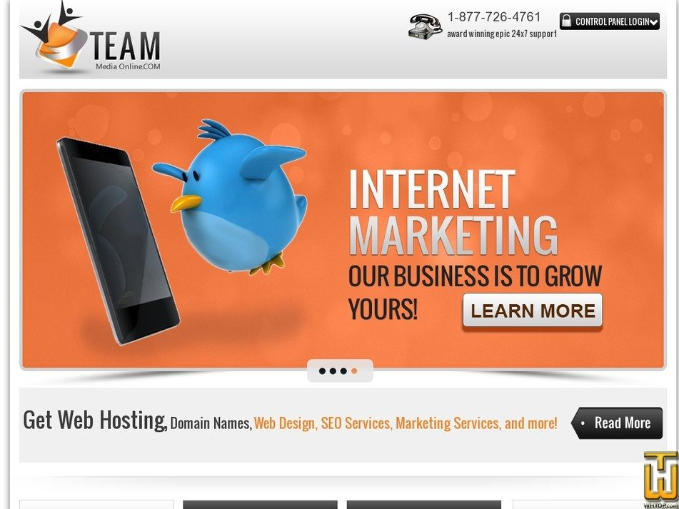 teammediaonline.com Screenshot