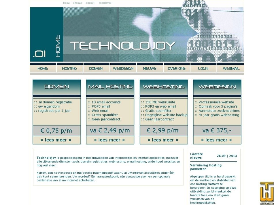 technolojoy.nl Screenshot