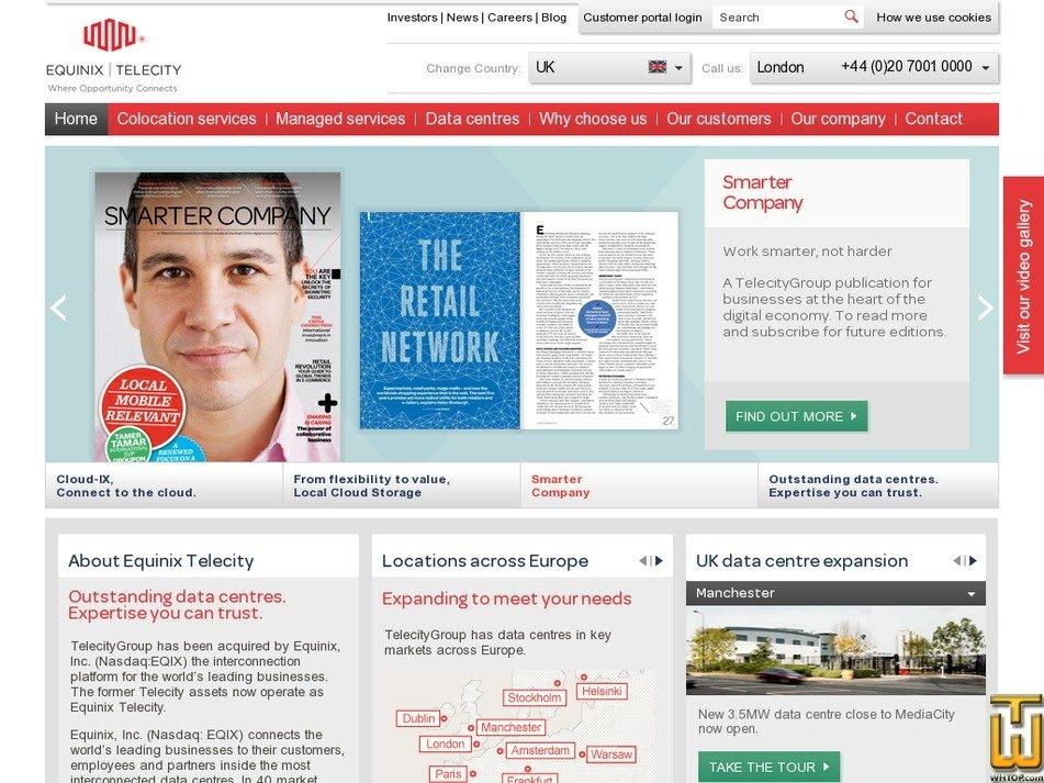 telecitygroup.com Screenshot