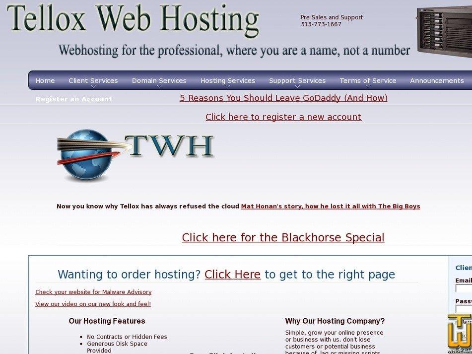 tellox.net Screenshot