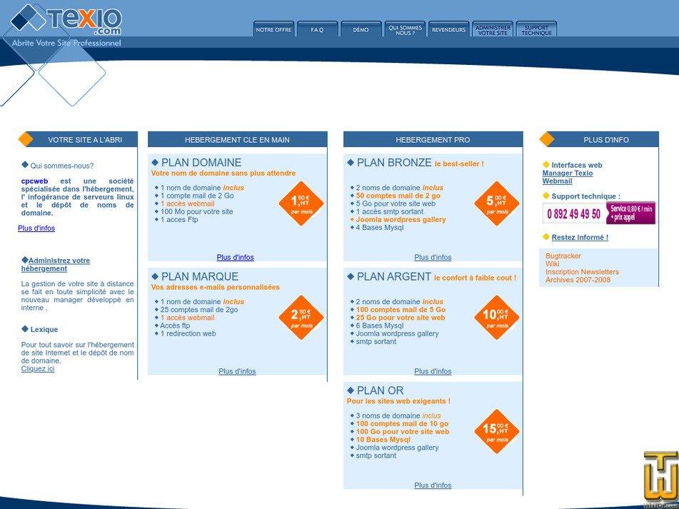 texio.com Screenshot
