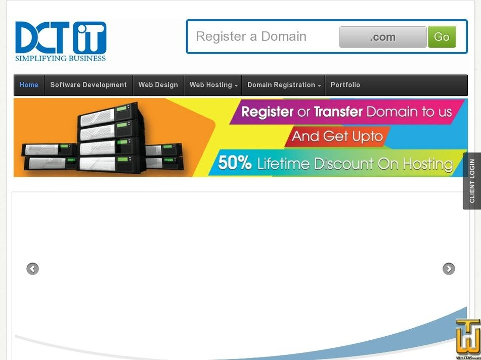 thedct.com Screenshot