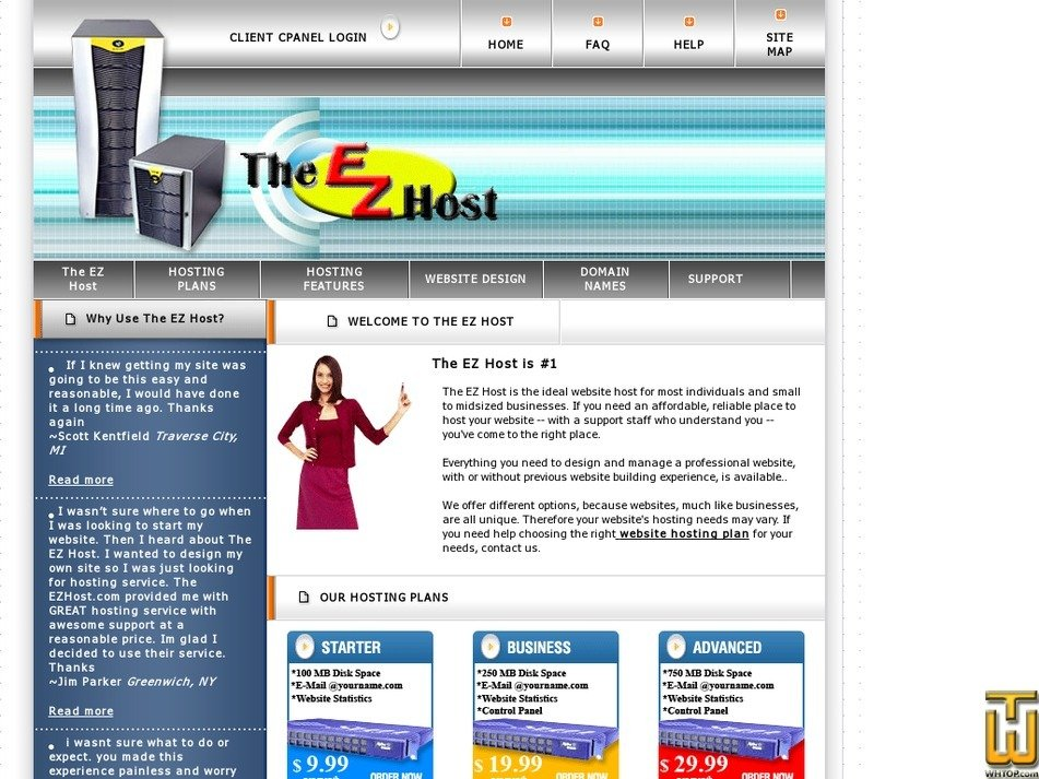 theezhost.com Screenshot