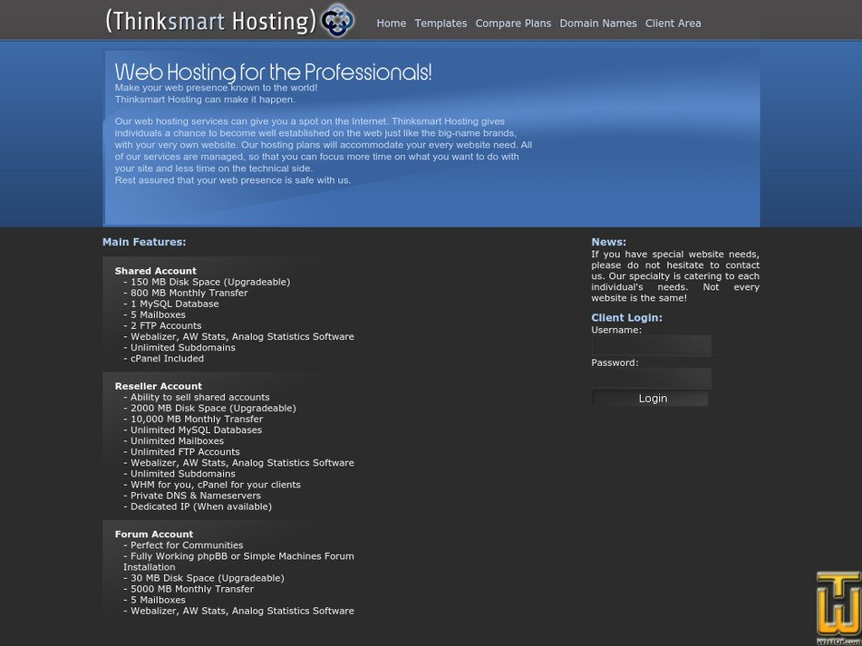 thinksmart12.com Screenshot