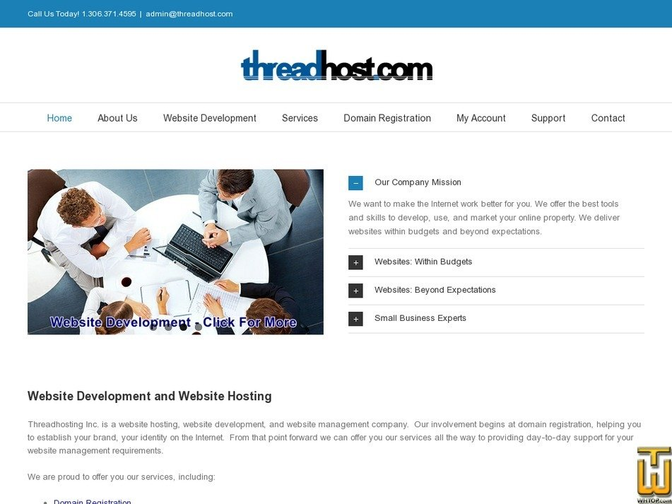 threadhost.com Screenshot