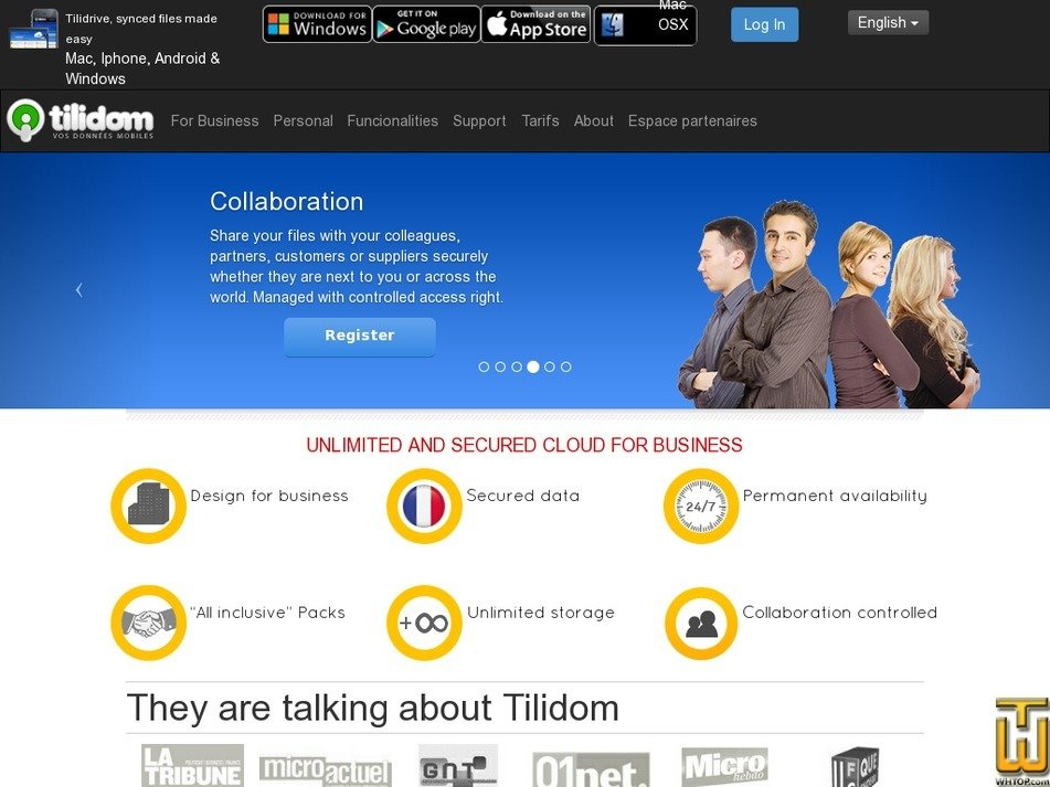 tilidom.com Screenshot