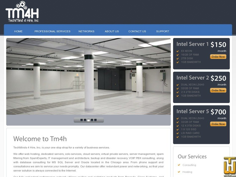 tm4h.com Screenshot
