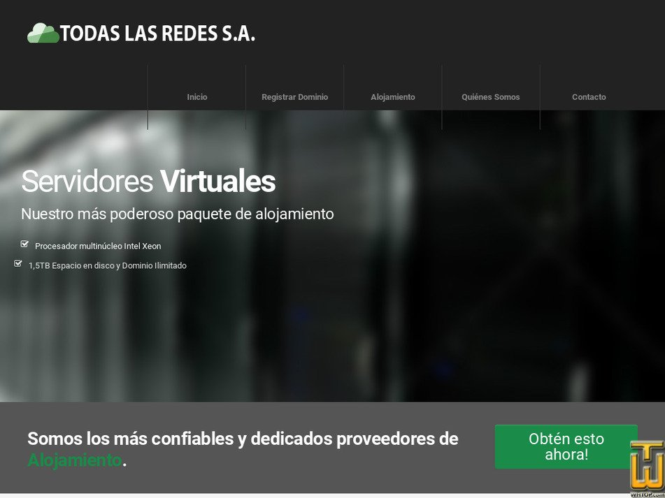 todaslasredes.com Screenshot