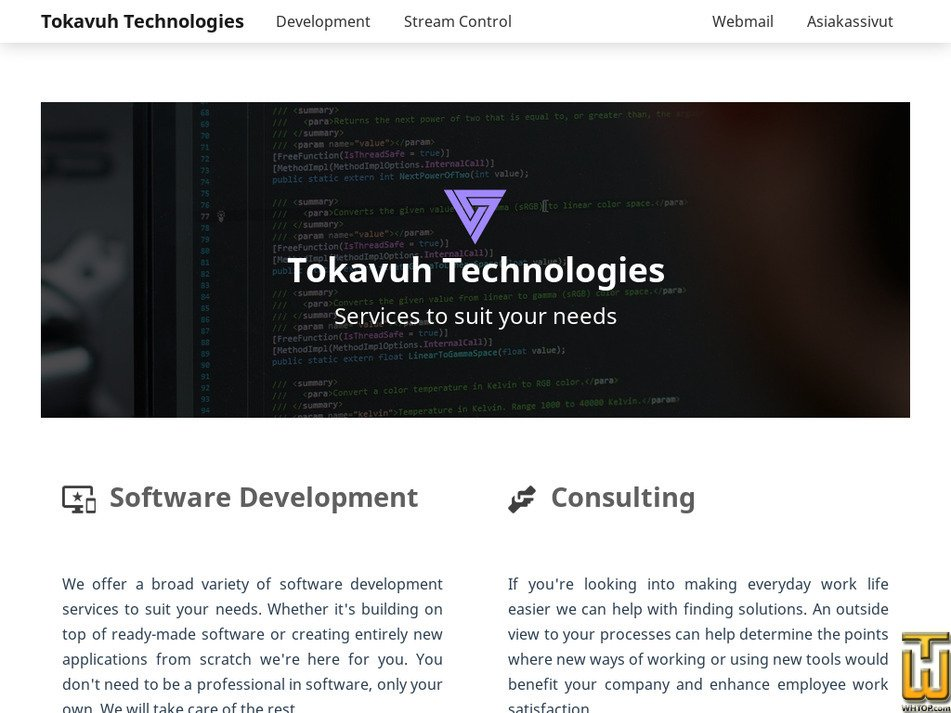 tokavuh.com Screenshot