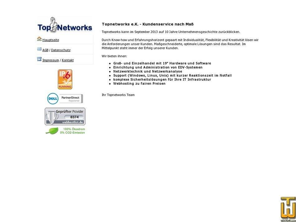 topnetworks.de Screenshot