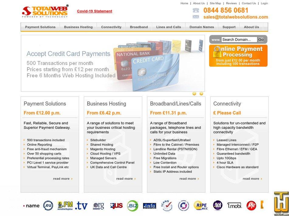 totalwebsolutions.com Screenshot