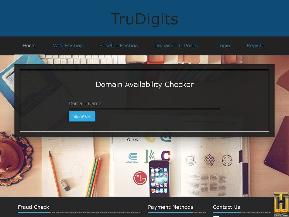 trudigits.com Screenshot